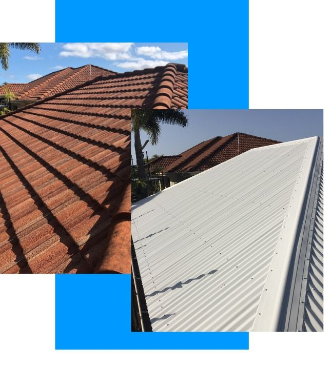 RoofBitz Roofing Tile to Metal